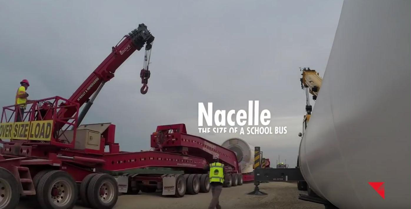 148 nacelle the size of a school bus