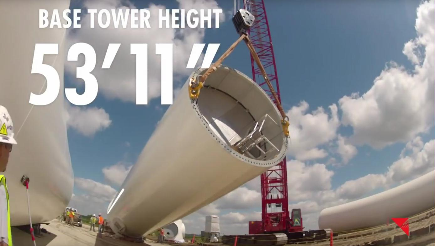 216 base tower height 53 feet 11 inches
