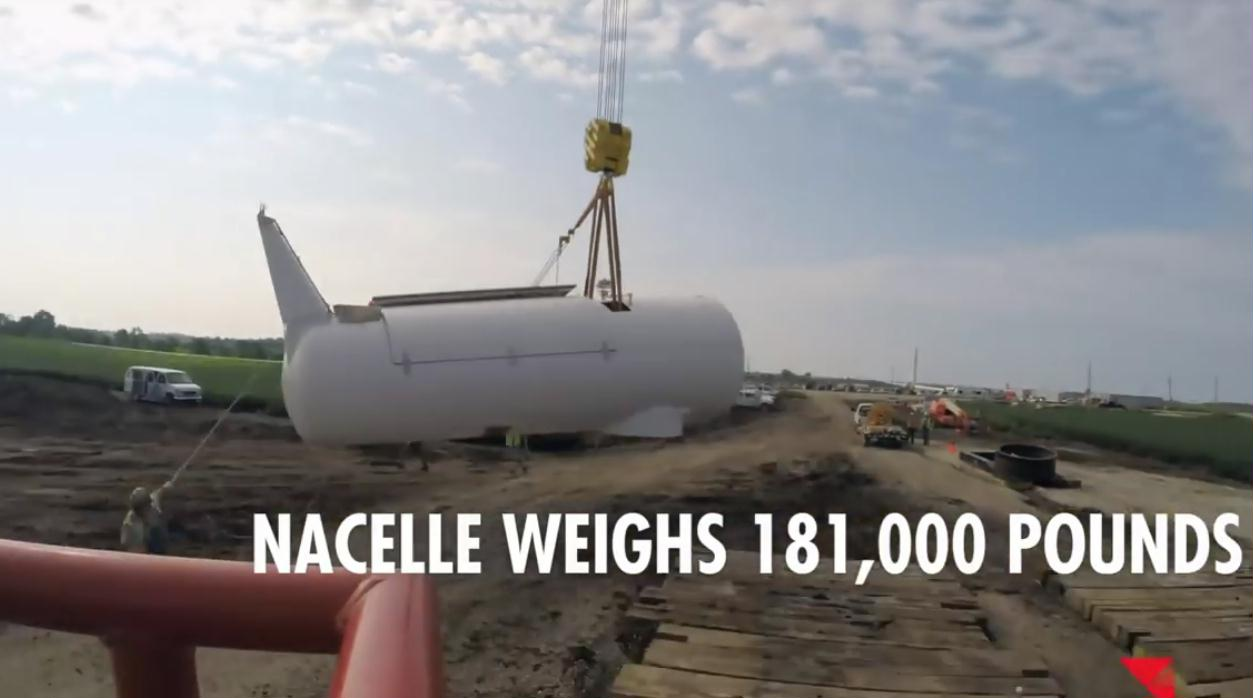 427 nacelle weighs 181000 pounds