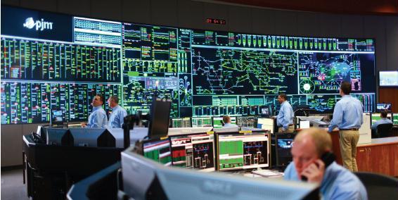 Control Center Room Pjm Peak Energy Amp Resources Climate