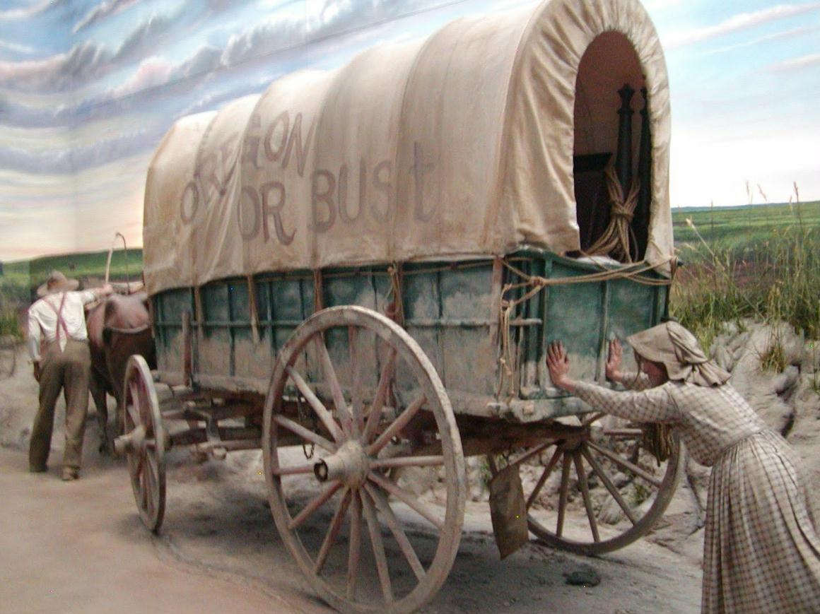 Conestoga Wagon Train The Image Kid Has It